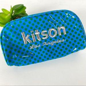 3/$25 Kitson Los Angeles Cosmetic Makeup Bag Dots